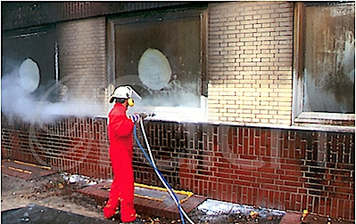 Tűz utáni kármentesítés